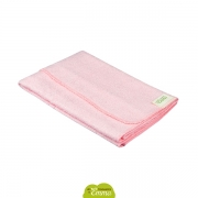 Serviette de toilette (couleur rose)