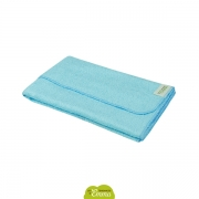 Serviette de toilette ultra-absorbante bambou (couleur bleu)